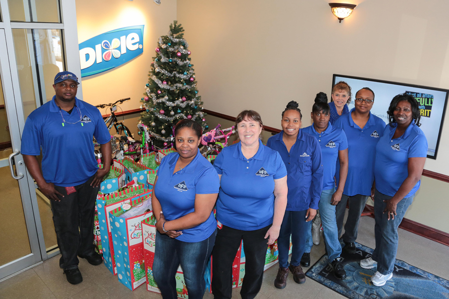 Christmas In Dixie Shirt.Darlington Dixie Force Makes Christmas Donation